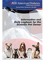 ADW Veterinarian's Pet Diabetes Log Book