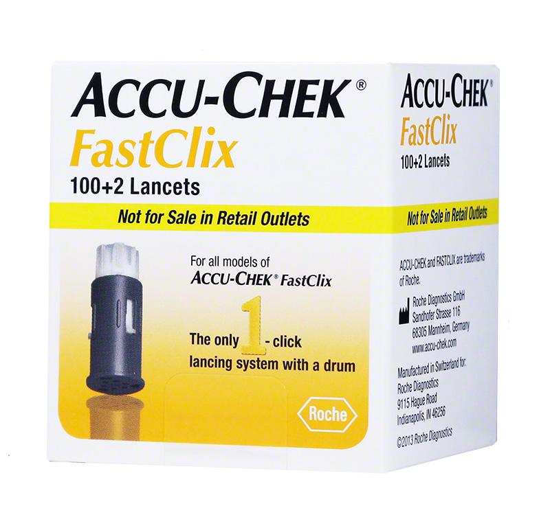 Accu-Chek FastClix Lancets $ 11.99