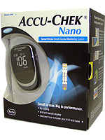 Accu-Chek Nano SmartView Blood Glucose Monitoring System $ 21.99