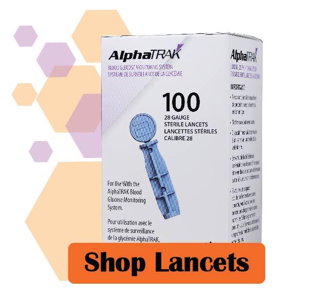 AlphaTrak 2 Lancets