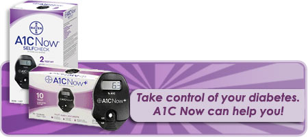 Bayer - A1C now selfcheck