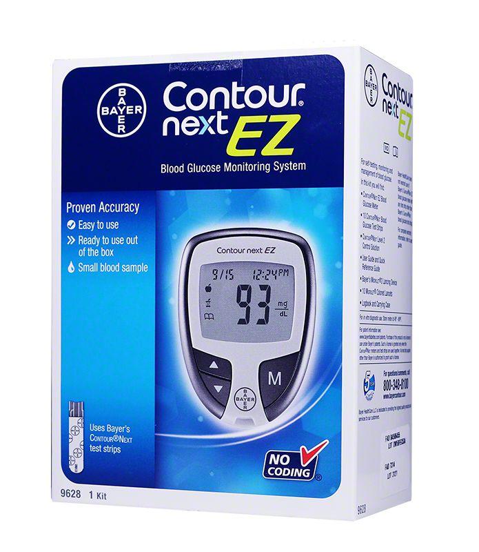 Bayer Contour NEXT EZ Diabetes Meter Kit $ 20.99