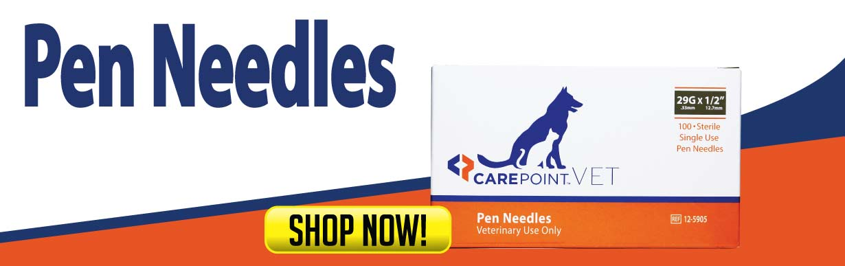 CarePoint Vet Pen Needles