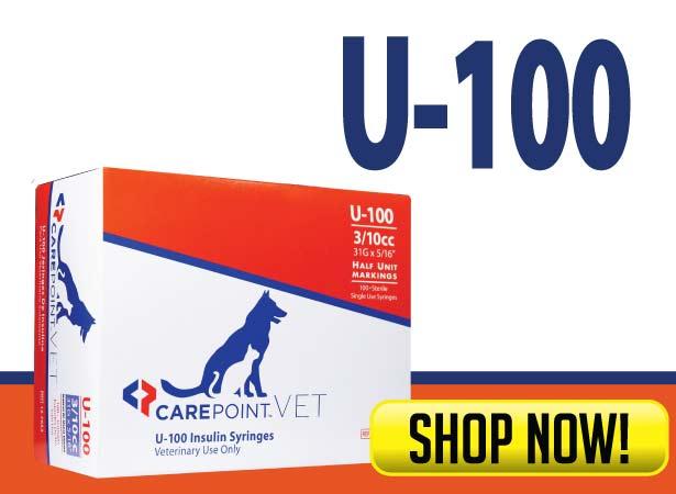 CarePoint Vet U-100 Syringes