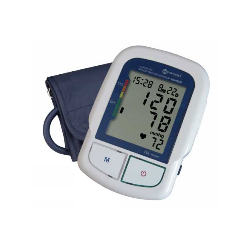 Clever Chek Bilingual Talking Arm BP Monitor w/XL Cuff SDI-886AT