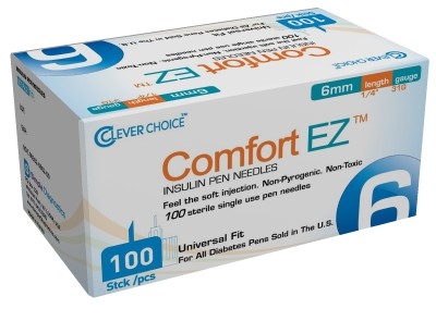 Clever Choice Comfort EZ Pen Needles & Syringes