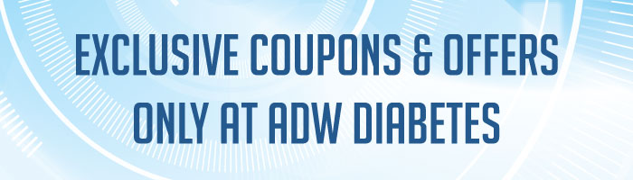 Exclusive Coupons Codes and Offers at ADW Diabetes