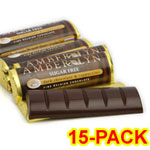 Amber Lyn Sugar Free Dark Chocolate Cappuccino Candy Bar - 15/pk $ 26.95