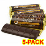 Amber Lyn Sugar Free Dark Chocolate Coconut Macadamia Candy Bar - $ 9.49