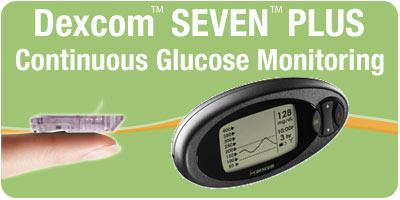 Dexcom SEVEN PLUS Sensors