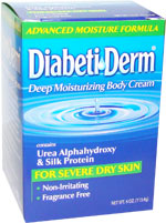 DiabetiDerm Deep Moisturizing Cream 4oz