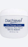 Diachieve Foot Therapy Cream - 4 Ounce Jar