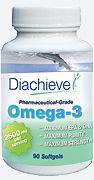 Diachieve Omega-3 Dietary Supplement 90/btl