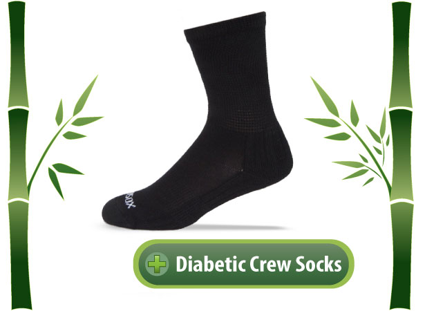 Ecosox Diabetic Crew Socks