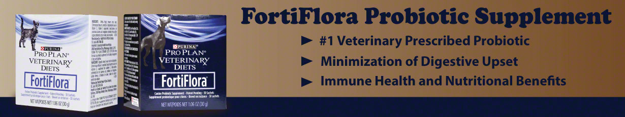 Purina Diet FortiFlora Nutritional Supplements for Dogs and Cats