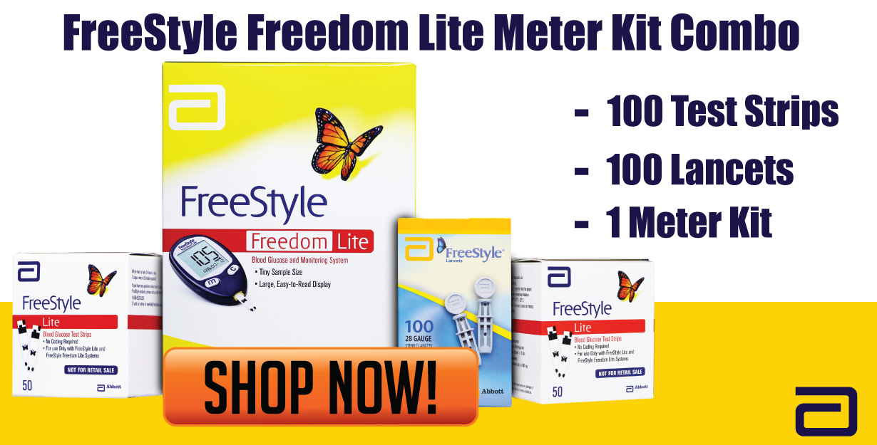 FreeStyle Lite Meter Kit Combo