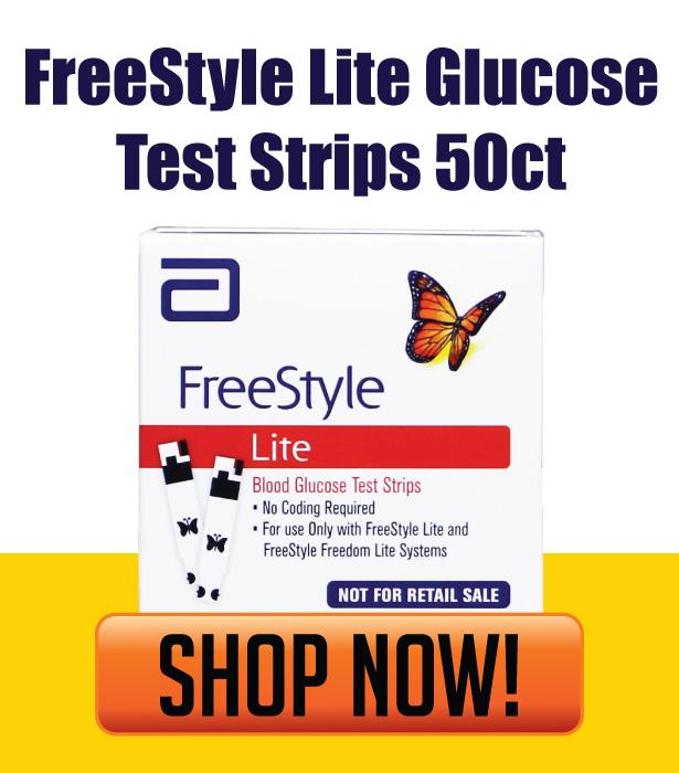 FreeStyle Lite 50 Test Strips