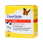 Freestyle Lite Blood Glucose Test Strips