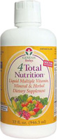 Genesis Today 4Total Nutrition - Liquid Dietary Supplement - 32 fl oz