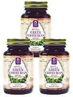 Genesis Today 100% Pure Green Coffee Bean Extract 60/Bottle 3-Pack $ 57.57