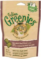 Greenies Cat Dental Treats Beef 3oz