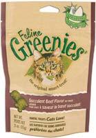 Greenies Cat Dental Treats Beef 3oz