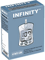 INFINITY Automatic Coding Blood Glucose Monitoring System $ 12.99