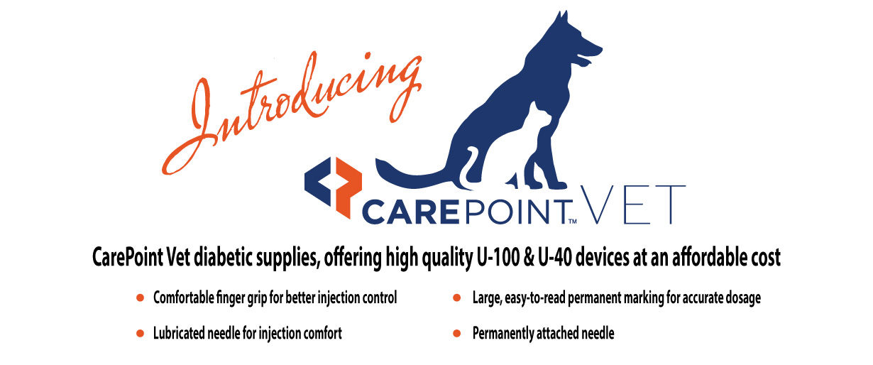 CarePoint VET Products Banner