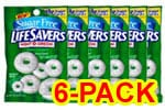 Life Savers Sugar Free Wint-O-Green Mints 2.75 oz - Pack of 6 $ 11.34