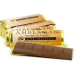 Amber Lyn Sugar Free Milk Chocolate Candy Bar - Each $ 1.99