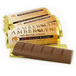 Amber Lyn Sugar Free Milk Chocolate Orange Candy Bar - Each $ 1.99