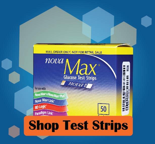 Nova Max Glucose Test Strips