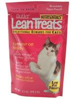 Nutrisentials Lean Treats For Cats 3.5oz Bag $ 1.99