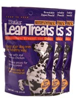 Nutrisentials Lean Treats For Dogs 4oz Bag Pack of 3 $ 5.79