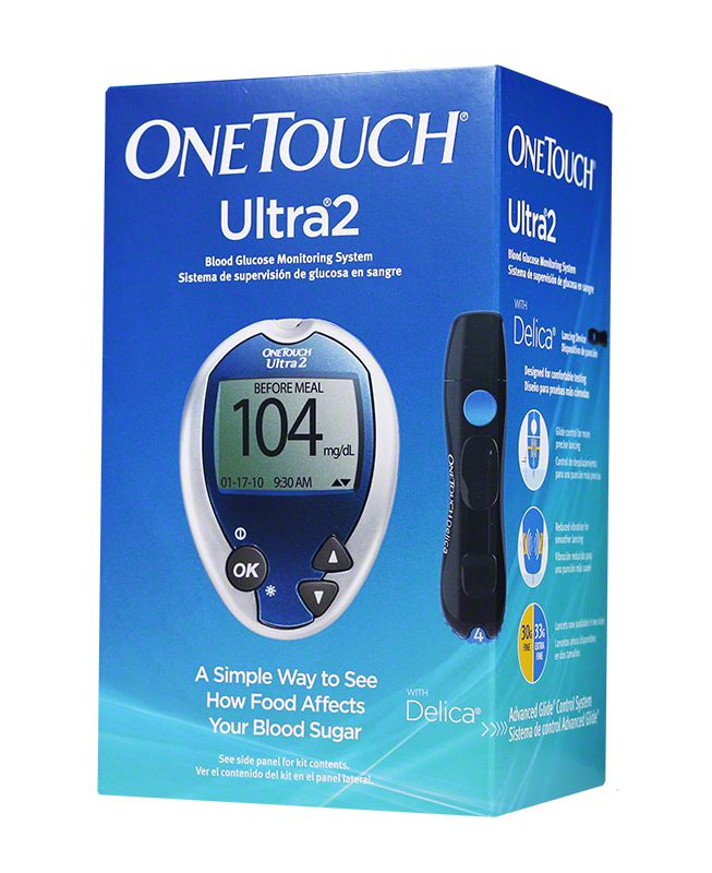 One Touch Ultra2 Diabetes Meter Kit