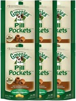 Greenies Canine Pill Pockets Peanut Butter Capsule 30/pk - 6 Pack $ 31.36