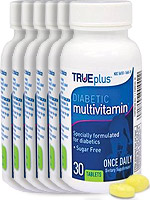 TRUEplus Diabetic Multivitamin 30/bottle Case of 12