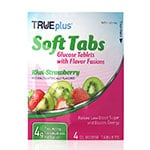 TRUEplus Glucose Tabs Flavor Fusions Kiwi-Strawberry 4ct - Case of 12 thumbnail