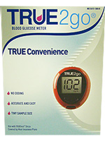 TRUE2go Blood Glucose Monitoring System $ 18.99