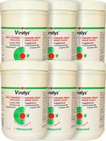 Viralys Powder L-Lysine Supplement For Cats 600 Gram Jar Pack of 6 $ 347.54