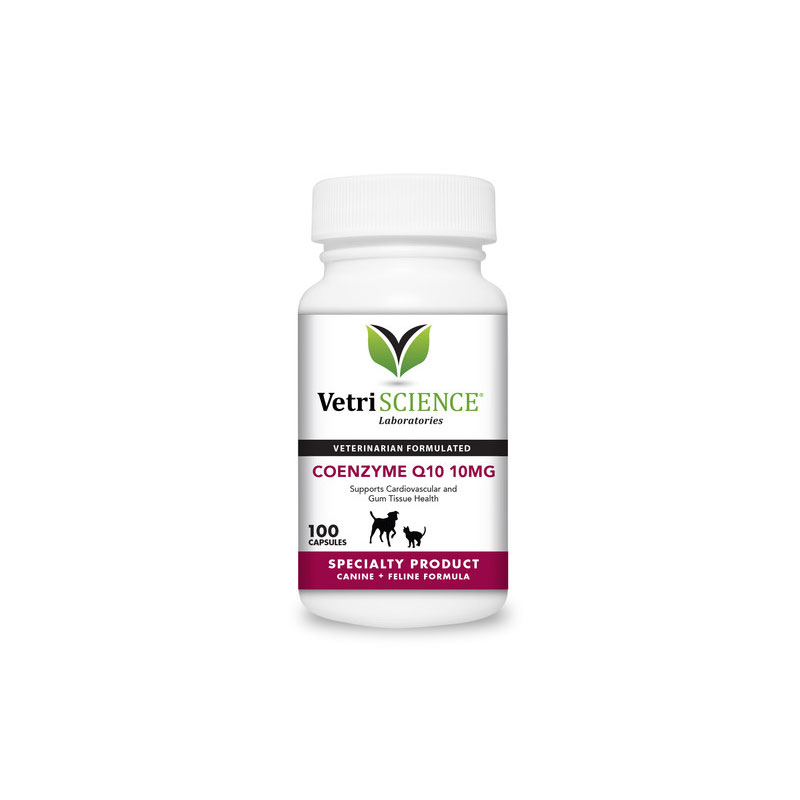 VetriScience Q10 MG Capsules For Cats & Dogs 100ct