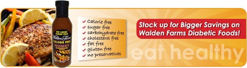 Walden Farms Diabetic Foods
