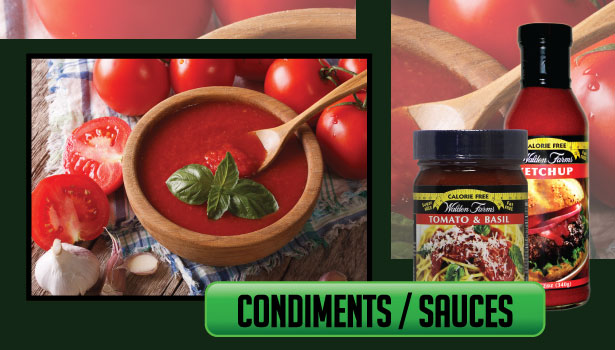 Walden Farms Condiments / Sauces