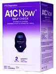 A1cNow Self Check At-Home A1C System - 2 Test Kit