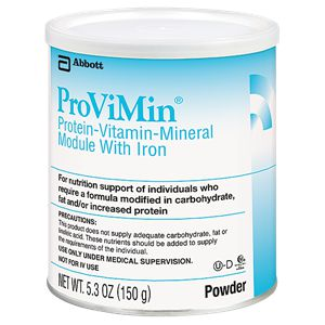 Abbott Nutrition Provimin Protein Powder Formula w/Iron 5.3oz Each