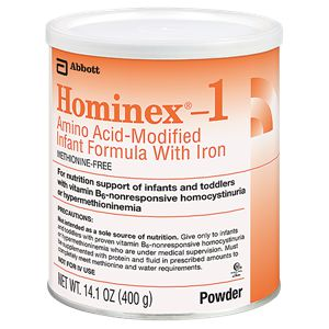 Abbott Hominex 1 Amino Acid-Modified Formula w/Iron 14.1oz Case of 6