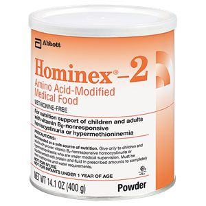 Abbott Hominex 2 Amino Acid-Modified Medical Food 14.1oz Case of 6