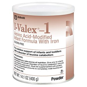 Abbott I-Valex 1 Amino Acid-Modified Infant Formula Iron 14.1oz 6-Pack