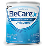 Abbott Elecare Jr. Unflavored 14.1oz Hypoallergenic Can Each