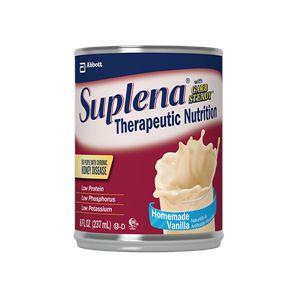 Abbott Suplena Gluten-Free Homemade Vanilla Shake 8oz Each